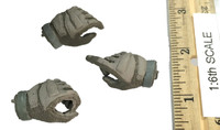 S.D.U. Special Duties Unit - Gloved Hand Set (3)