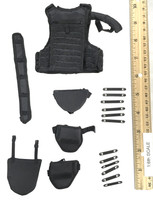 S.D.U. Special Duties Unit - Modular Armored Vest Set