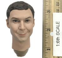 Genius Scientist - Head (Smiling) w/ Neck Joint