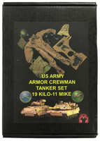 US Army Armor Crewman Tanker Set - Boxed Set