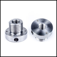 Threaded adapter (33mm x 3.5  male to  3/4 x 10 female)