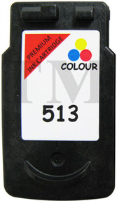 Canon CL-513  Remanufactured Ink Cartridge - High Capacity Tri-Colour Ink Cartridge - Compatible For (2971B001AA, CL-513, CL513)