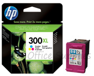 HP 300 XL Original Tri-Colour Ink Cartridge (CC644EE, HPCC644EE, CC644, 300XL,)