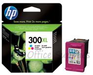 HP 300 XL Original Tri-Colour Ink Cartridge (CC644EE, HPCC644EE, CC644, 300XL,)
