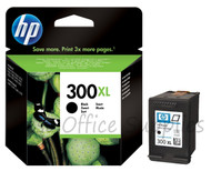 HP 300 XL Original Black Ink Cartridge (CC641EE, HPCC641EE, 300XL, 300,)
