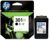 HP 301 XL Original Black Ink Cartridge (CH563EE, HP 301XL, CH563E)