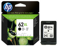 HP 62 XL Original Black Ink Cartridge (C2P05AE, C2P05A, HP 62XL, HP62XL)
