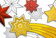 Free Printable Christmas stars