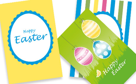 photo relating to Free Printable Easter Cards named Free of charge Printable Easter Playing cards - Excellent Business office Elements Ltd