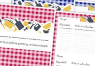 Free Printable Recipe Book