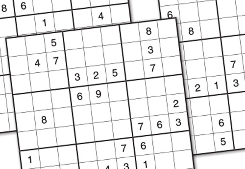 graphic regarding Monster Sudoku Printable identified as Totally free Printable Sudoku - Least complicated Office environment Materials Ltd