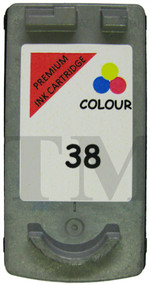 Canon CL-38  Remanufactured Ink Cartridge - High Capacity Tri-Colour Ink Cartridge - Compatible For (CL-38, 2146B001)