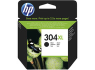 HP 304 XL Original Black Ink Cartridge (N9K08AE, HP 304XL)