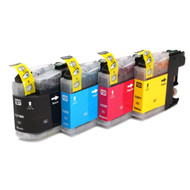Brother LC227 / LC225 XL Compatible Ink Cartridges Multipack Pack - High Capacity 4 Colour - Black / Cyan / Magenta / Yellow