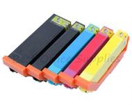 Epson 33XL Compatible Ink Cartridges Multipack - 5 Colour Black / Photo Black / Cyan / Magenta / Yellow T3375 ORANGES INKS Cartridges (C13T33574010)