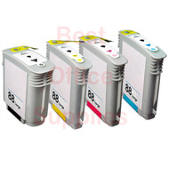HP 88 XL Ink Cartridges Multipack Pack – Black / Cyan / Magenta / Yellow (Compatible for C9396EE / C9391AE / C9392AE / C9393AE)