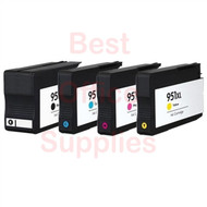 HP 950 XL / 951 XL Ink Cartridges Multipack Pack – Black / Cyan / Magenta / Yellow (Compatible for CN045AE / CN046AE / CN047AE / CN048AE)