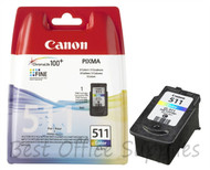 Canon CL-511 Original Tri–Colour Ink Cartridge (2972B001AA, CL-511, CL511)