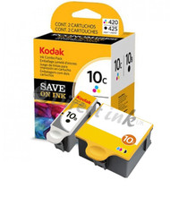 Kodak 10 Original Black & Tri-Colour Ink Cartridges Multipack - (3947074, No.10, 10, 3947058, 3947066)