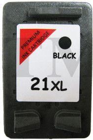HP 21 XL Remanufactured Ink Cartridge - High Capacity Black Ink Cartridge - Compatible For (C9351CE,HP 21XL, HP21XL)