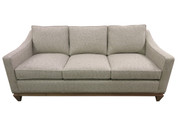 Custom #147 Sofa with Custom Wood Base - ACK#42044