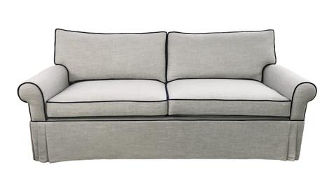 Custom Lawson Sofa And Storage Ottoman Ack 81267 Avery