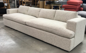 Custom Sofa with built out back