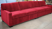 Custom sleep sofa with two twin size sleepers