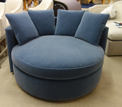 Custom round sofa ACK #10459