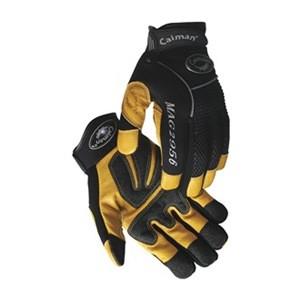 Caiman® Natural Pigskin Leather Mechanics Gloves  ## 2956 ##