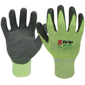 ANSI A4 - Z-GRIP Cut Resistant Polyurethane Coated Gloves  ## 4928HG ##