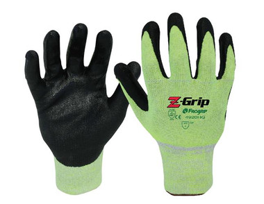 ANSI A4 - Z-GRIP Cut Resistant Nitrile Coated Gloves  ## 4920HG ##