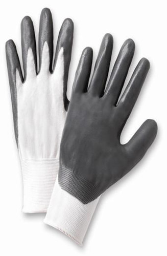Nitrile Coated Nylon Gloves  ## 1683 ##