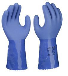"""12"""" ATLAS® Vinylove™ Fully Coated PVC Gloves  ## 660 ##"""
