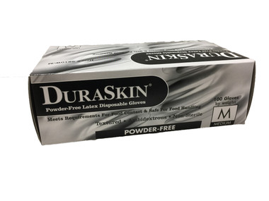 5 mil Industrial Grade Powdered Latex Exam Gloves  ## 220 ##