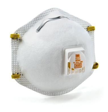3M 8511 N95 Particulate Respirators  ## 3MR8511 ##