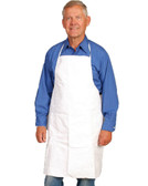 Tyvek® White Aprons - Case of 100  ## 14470 ##