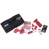 NORTH® Lockout / Tagout Tool Box Kit  ## LK107FE ##