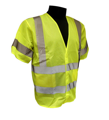 Non-Breakaway Mesh Class 3 Safety Vests  ##VEST 6G ##