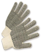 PVC Palm Double Dot String Knit Gloves ##RD100 ##