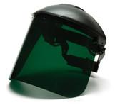 Pyramex® Polyethylene Face Shields - Welding Green ##S1035 ##