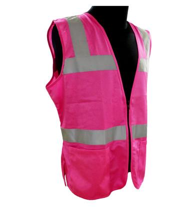 ERB Non-ANSI Hi-Vis Pink Safety Vest ##VEST 721 ##