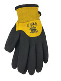 ANSI A4 - Insulated, Knuckle Dipped Bi-polymer Cut Resistant Gloves  ## 713WCG ##