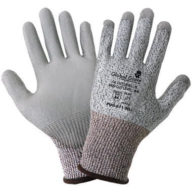 ANSI A4 - CUT RESISTANT POLYURETHANE COATED GLOVES  ## 4342S ##