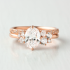 Portia Oval Cluster Engagement Ring