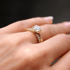 Loie Hexagon Ethical Engagement Ring