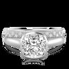 Laura Preshong Engagement Ring - Betsy Oval Bezel Engagement Ring