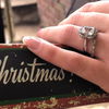 Alice Halo Engagement Ring