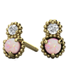 Madeline Opal and Diamond Ethical Earrings