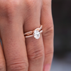 Maisie Oval Cut Ethical Diamond Engagement Ring